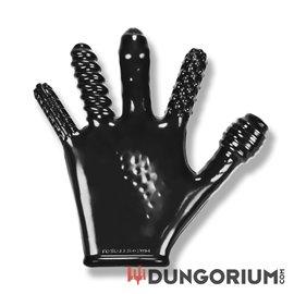Finger-Fuck Handschuh mit verschiedenen Texturen