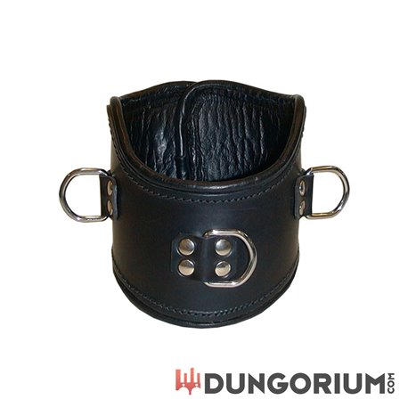 Mister B Leather Positioning Collar-8718788012598