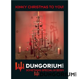 Postkarte Kinky Christmas to You!