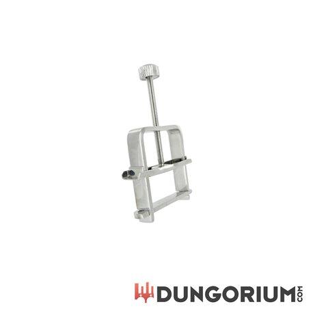 Schraubstock Nippelklemme aus Stahl -848518000569