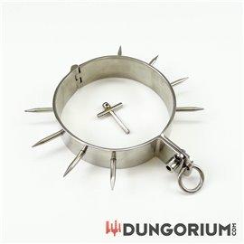 Dungorium Halseisen mit Stacheln