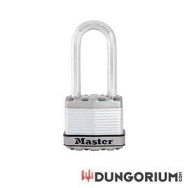 Master Lock Schloss Excell aus geschichtetem Stahl mit hohem Bügel