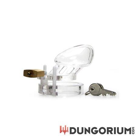CB-6000S Keuschheitskäfig - Transparent - 37 mm-94922298553