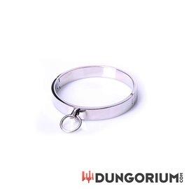 Halsband aus poliertem Stahl