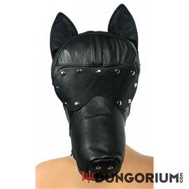 Verspielte Hundekopfmaske