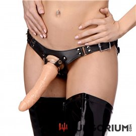 Dominanz Strap-on Harness aus Leder