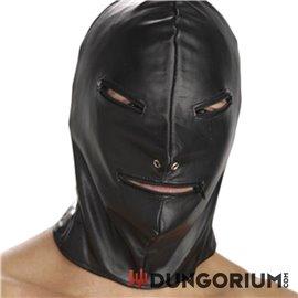 Strict Leather Maske mit Reißverschluss