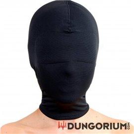 Strict Leather Maske aus Elastan in Schwarz