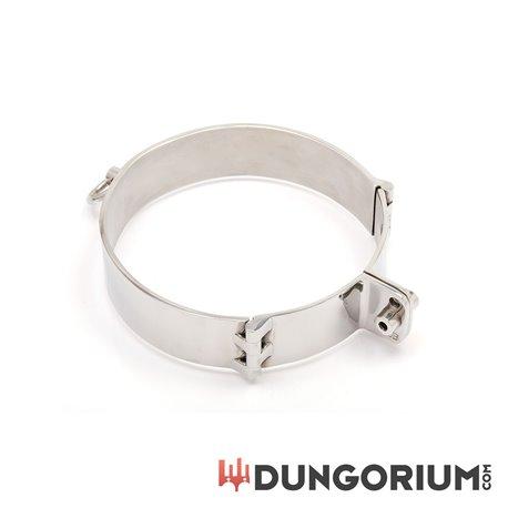 Dungorium Halsfessel mit zwei Scharnieren