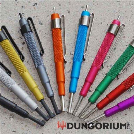 Handschellenschlüssel mit Dorn und Clip