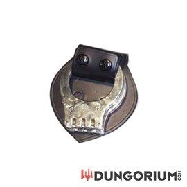 Schnellverschluss mit Schutzplatte für Handschellen