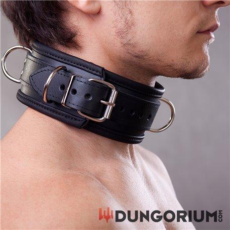 Halsband 6,5 cm abschließbar