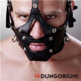 Käfig-Maske mit abnehmbarer Augen- und Mundpartie