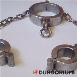 Hand- Halseisen Kombination mit Kette 11,5 kg