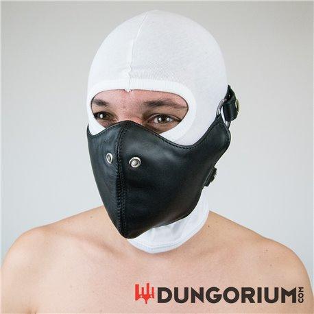 Mister B Leather Bike Mask-8718788033357