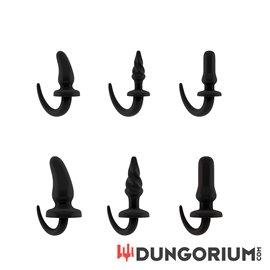 Sono Tail Plug aus Gummi - in 3 Ausführungen und 2 Größen