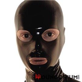 Mister B Rubber Full Face Hood Zip