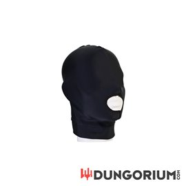 Mask - open mouth hood
