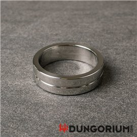 Steel Extra Thick Cockring 15 mm