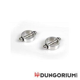 Magnetische Nippelklemmen (Paar)
