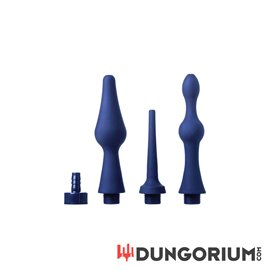 Universal 3 Piece Silicone Enema Attachment Set