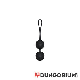 Silicone Kegel Ball - Black