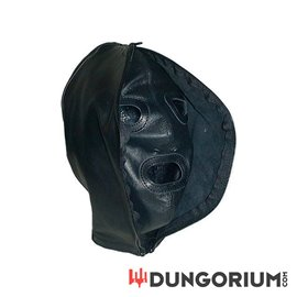 Mister B Double Faced Leather Hood