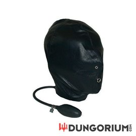 Mister B Leather Inflatable Hood