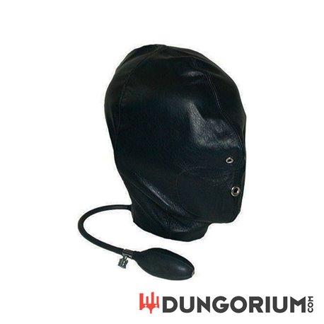 Mister B Leather Inflatable Hood-8718788013335