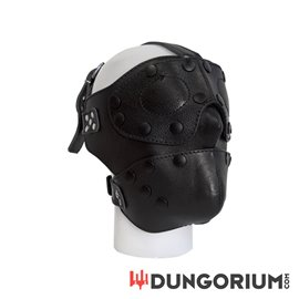 Mister B Detachable Leather Face Mask