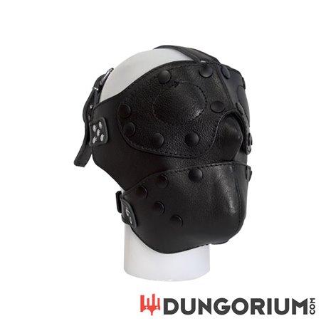 Mister B Detachable Leather Face Mask-8718788013397