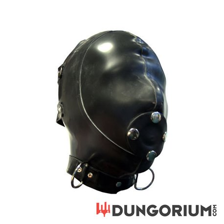 Mister B Rubber Extreme Hood With Removable Gag -8718788013618
