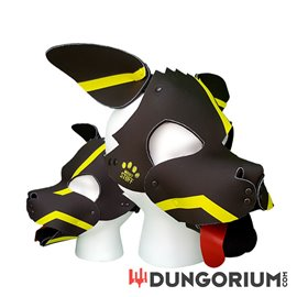 Personalisierbare Puppy Dog Maske aus Neopren - Neuromancer