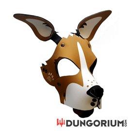 Personalisierbare Puppy Dog Maske aus Neopren - Cassie