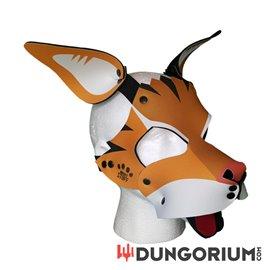 Personalisierbare Puppy Dog Maske aus Neopren - Mr. Tiggles