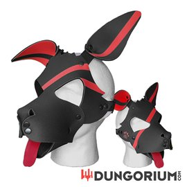 Personalisierbare Puppy Dog Maske aus Neopren - Riker