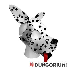 Personalisierbare Puppy Dog Maske aus Neopren - Dalmato