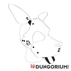 Personalisierbare Puppy Dog Maske aus Neopren - Eigenes Design
