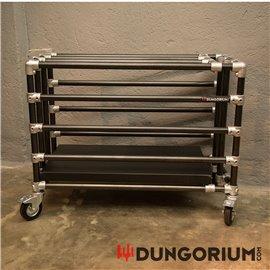 Stahlkäfig Dungocage mit Rollen