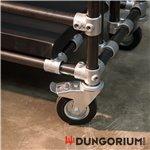 Rollenset für Stahlkäfig Dungocage