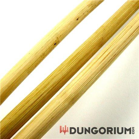 Rohrstock, geschält, 10 mm, 2 Stück