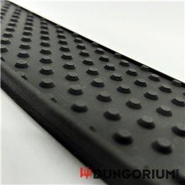 Smack Paddle aus schwarzem Silikon