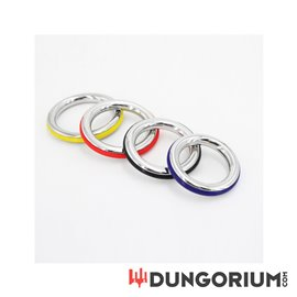 "Cockring ""Ze Color"" mit buntem Silikon Ring als Highlight"