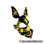 Personalisierbare Puppy Dog Maske aus Neopren - Splatter
