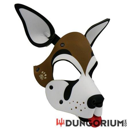 Personalisierbare Puppy Dog Maske aus Neopren - Frank