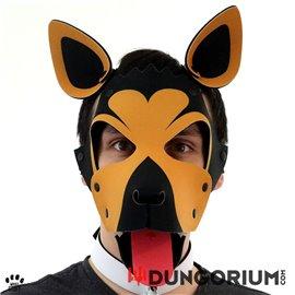 Personalisierbare Puppy Dog Maske aus Neopren - Gregorio