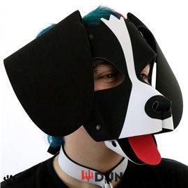 Personalisierbare Puppy Dog Maske aus Neopren - Benson