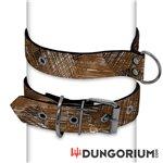 Personalisiertes Puppy Dog Halsband aus Neopren - Scribbles