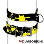 Personalisiertes Puppy Dog Halsband aus Neopren - Splatter