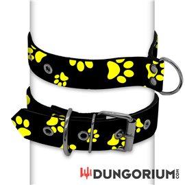 Personalisiertes Puppy Dog Halsband aus Neopren - Pawsies